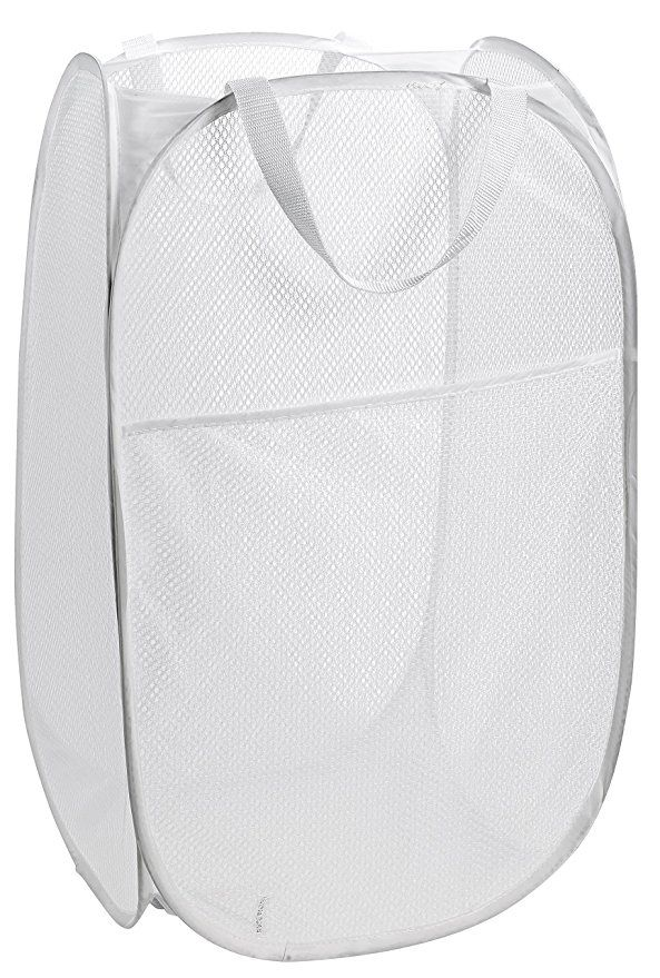 Mesh Pop Up Laundry Hamper 14 X 24 Easy To Open And Folds