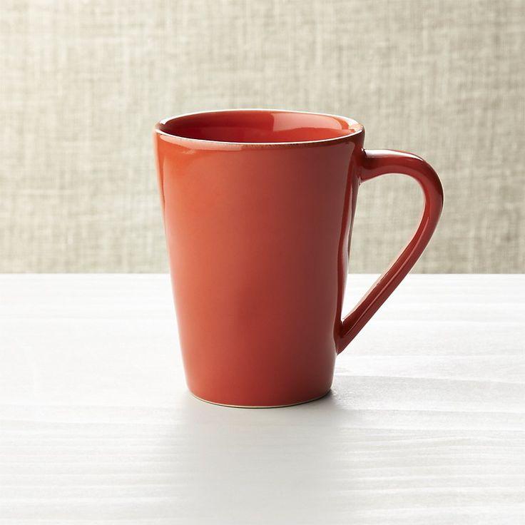Marin Orange Mug | Crate and Barrel