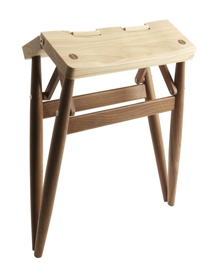 Tabouret pliant Imo, Russell Pinch