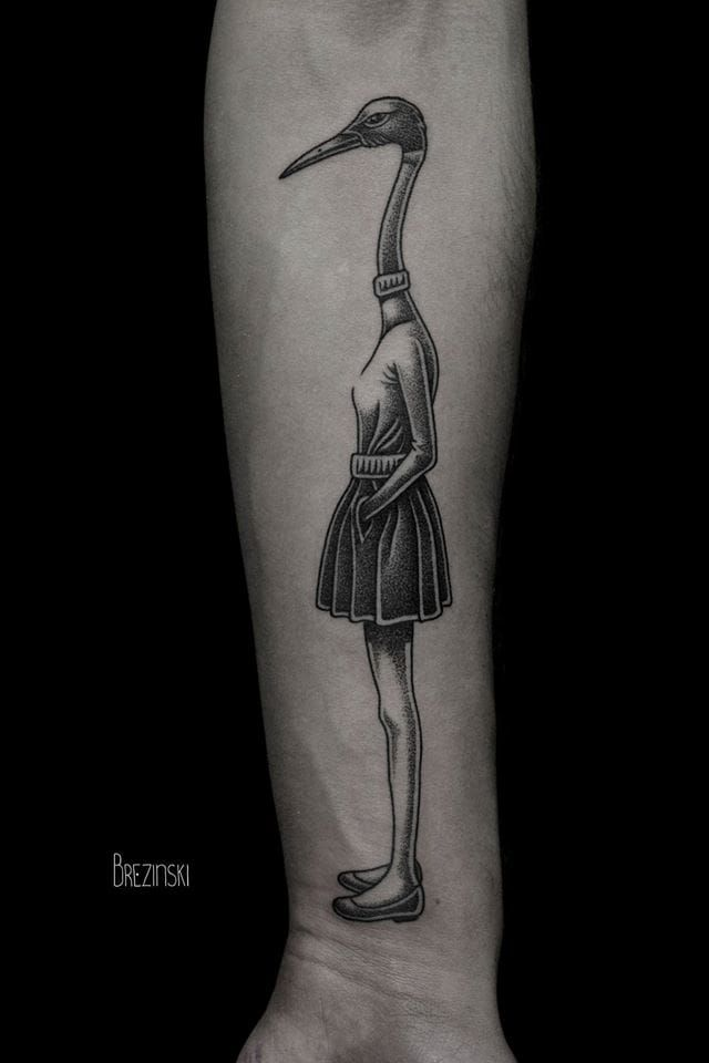 Best Tattoos Images On Pinterest Tatoos Art Tattoos And Tattoo - Surreal black ink tattoos by ilya brezinski