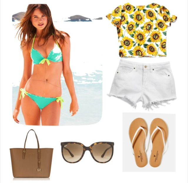 1000+ Ideas About Pool Party Outfits On Pinterest | Party Outfits Pool Outfits And Polyvore