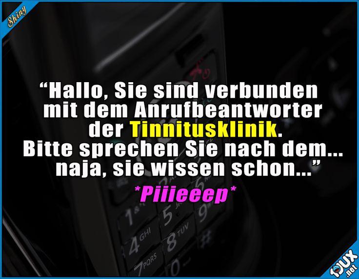 Nach dem anderen Piepton? ^^'  Lustige Sprüche / Lustige Bilder #Humor #Sprüche #lustige #1jux #lustigeBilder #lustigeSprüche #Jodel #nurSpaß #Piepton #Witz #Tinnitus