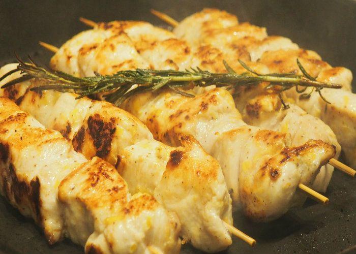 Biberiyeli Limonlu Tavuk Şiş   Ece Zaim'den Yemek Tarifleri