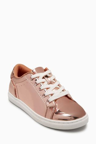 The Gold Mirror Trainers have us HEAD OVER HEELS!