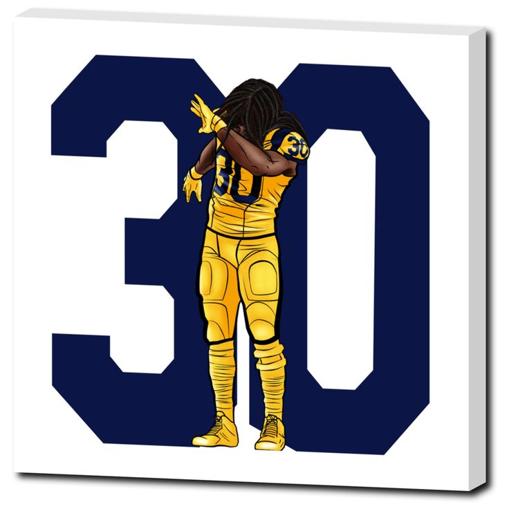 17 Best Images About Em Canvas Todd Gurley Canvas