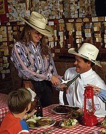 Dining At The Pinnacle Peak Patio Steakhouse U0026 Microbrewery North  Scottsdale AZ