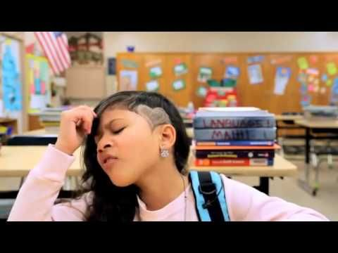 Girl Raps about the shooting in school