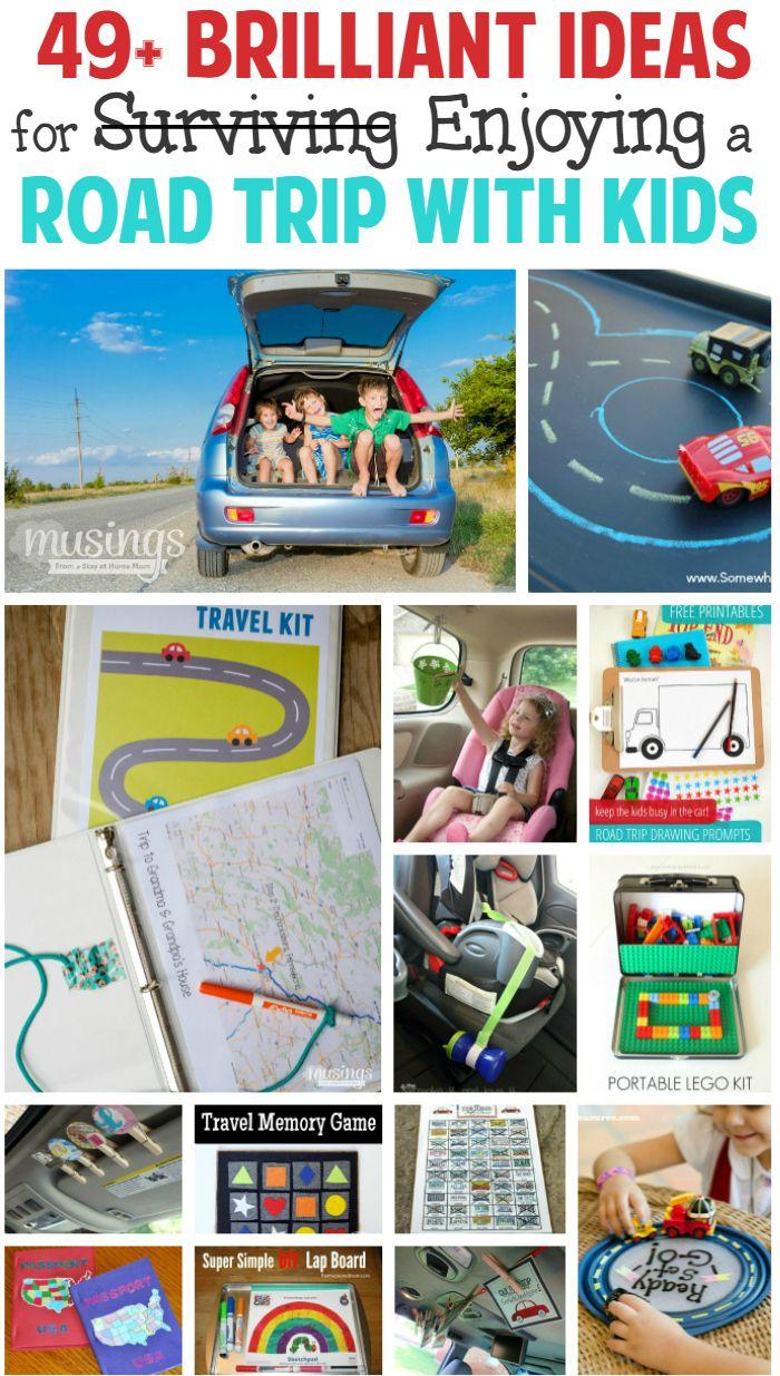 49+ brilliante Ideen um einen Road Trip mit Kindern zu genießen.Tolle und lustige Spiele für unterwegs!