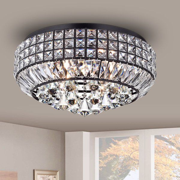 Contemporary Rectangular Crystal Chandelier Crystal Ceiling
