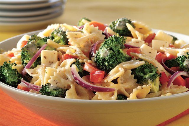 Get a taste of Italy when you make this Creamy Pasta Salad with Italian Seasoning. Add MIRACLE WHIP Dressing to this delicious, colorful pasta salad.