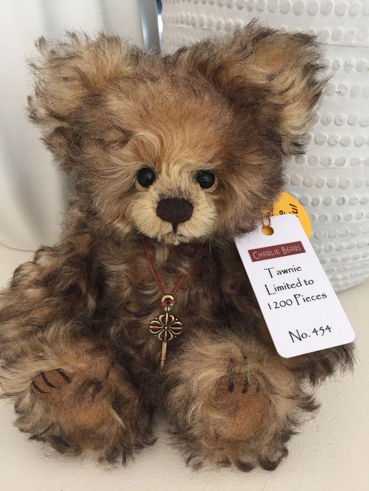 Tawnie Minimo Mohair Teddy Bear