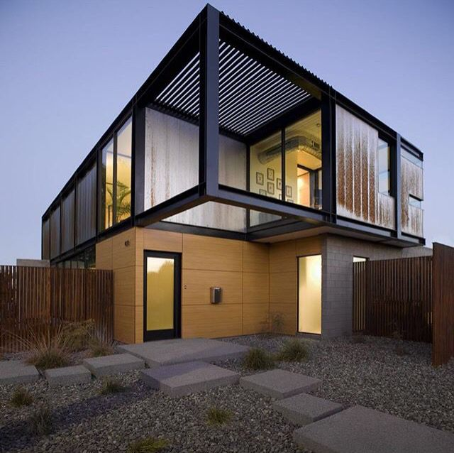 Exposed Steel Beams Glade Houses In 2018 Pinterest Architecture Modern House Design And