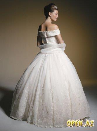 Свадебный наряд платье