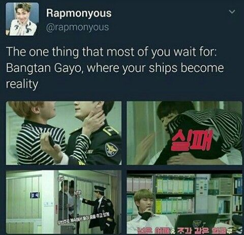 But this is Run BTS