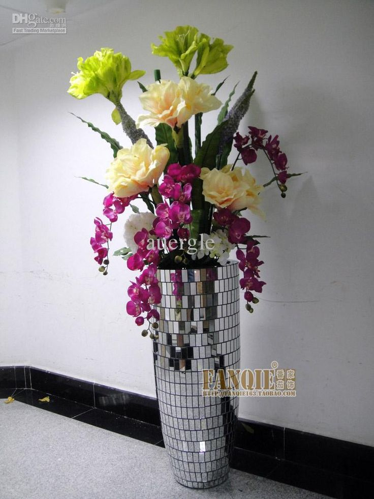 25 best ideas about large floor vases on pinterest tall for Floor vase with flowers