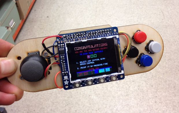 Picture of Raspberry Pi Portable Games Console