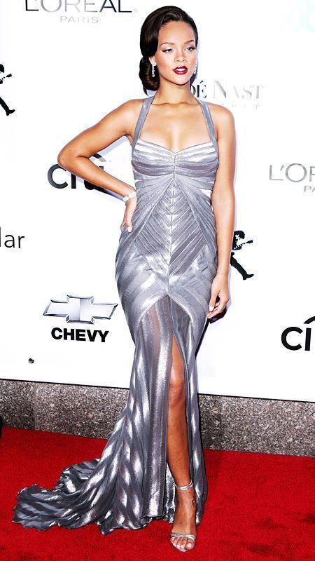 Rihanna - kreacje z czerwonego dywanu - Rihanna's Red Carpet Looks 1