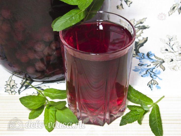 Виноградный компот с мятой на зиму #виноград #напитки #заготовкиназиму #рецепты #деловкуса #готовимсделовкуса