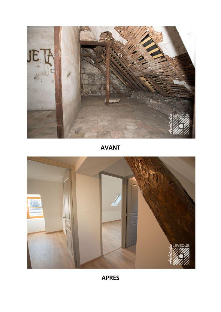 Rénovation maison (chambres)