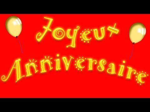Nouvelle musique joyeux anniversaire en français - YouTube