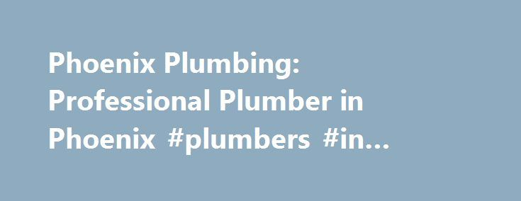 Phoenix Plumbing: Professional Plumber in Phoenix #plumbers #in #phoenix #arizona http://virginia-beach.remmont.com/phoenix-plumbing-professional-plumber-in-phoenix-plumbers-in-phoenix-arizona/  # Plumbers Phoenix is a trusted name for plumbing repairs, repiping, gas installations, and water heater services in Arizona. We proudly serve the local community and have helped thousands of residents and business owners by providing reliable plumbing services at fair prices. Our goal is to make…
