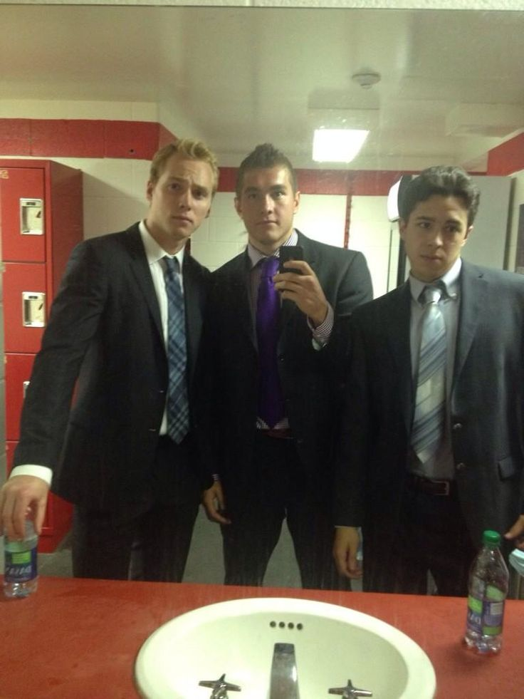 Sam Bennett, Micheal Ferland and Johnny Gaudreau