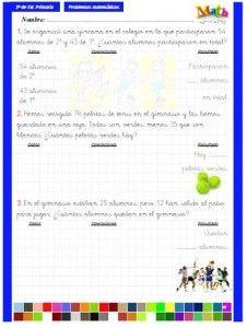 Cuadernillos para trabajar los problemas con alumnos de 2º, 3º, 4º, 5º y 6º de primaria. Elaborados por Nacho Verdejo. Para descargar.