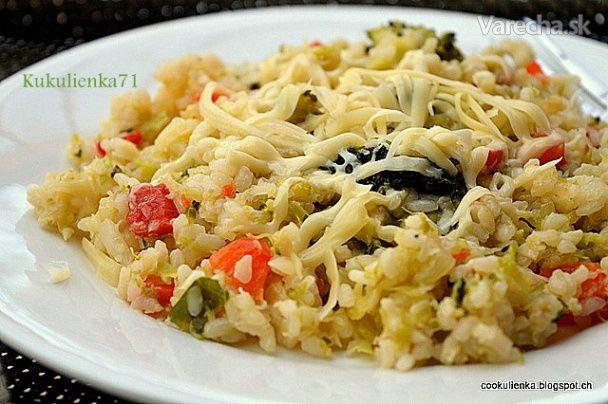 Šťavnaté zeleninové rizoto s kelom (fotorecept)