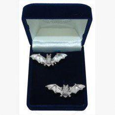 Bat Gothic Cufflinks, Wedding Gift, Best Man, Usher, Supplied in Organza Bag