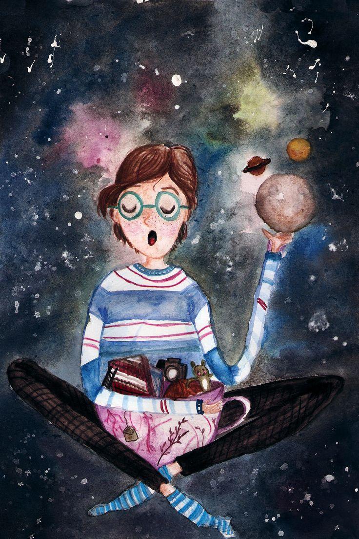 Cosmic. Planets. Stars. Books. Tea. Childhood. Imagination. Photography.
