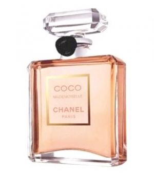 Coco Chanel Mademoiselle Perfume.  My most favorite perfume in the world! Spray Juicy Coutures, Viva La Juicy first then a spray a squirt of this on top and it smells amazing!!