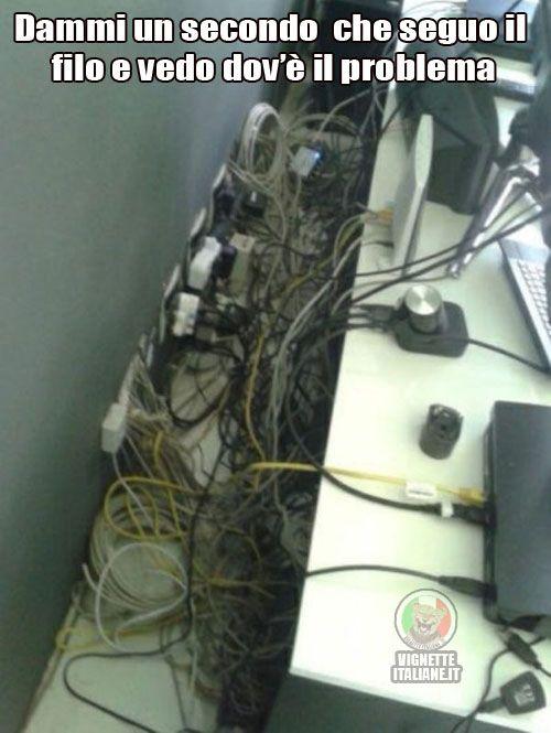 Il groviglio in ufficio