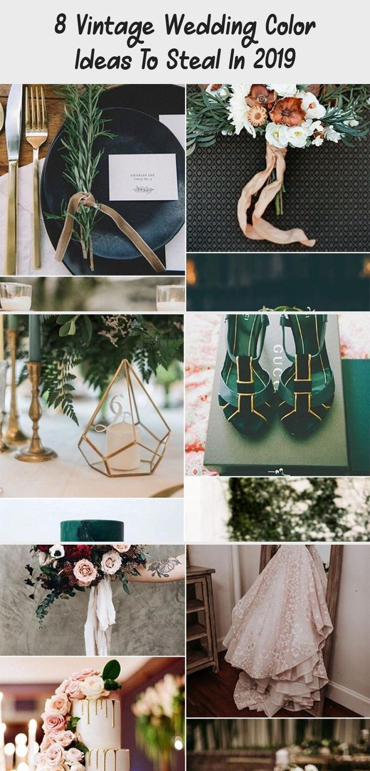 sage green and bronze vintage wedding color ideas #emmalovesweddings #weddingideas2019 #BridesmaidDressesLace #CasualBridesmaidDresses #IvoryBridesmaidDresses #BridesmaidDressesNavy #BridesmaidDressesVintage