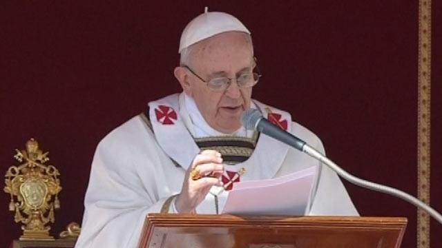 """L'intronizzazione Papa Francesco I """"custodi dell'altro e dell'ambiente""""  19-03-13"""