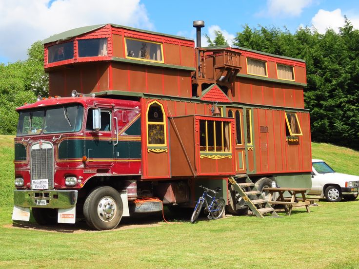 RV Design Funny pictures, Strange cars, House on wheels