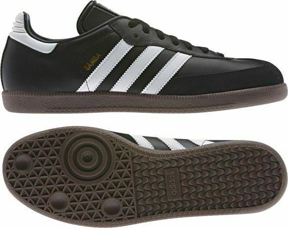 adidas Herren Samba Turnschuhe Sportschuhe Sneaker Schwarz Schuhe, Größe:46