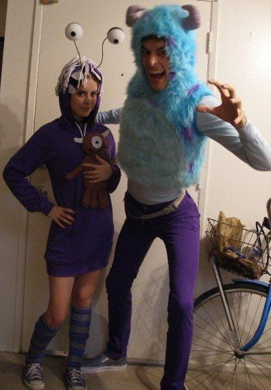 Monsters inc boo costume for adults