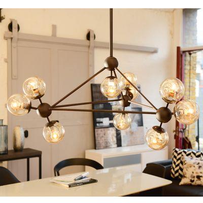 2x kids bedrooms, Cluster pendant light - dwell - £199, 100cm dia, (too big...?)