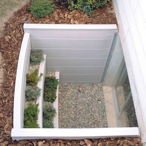 Bilco ScapeWEL Polyethylene Window Well 4048-42 In 2019