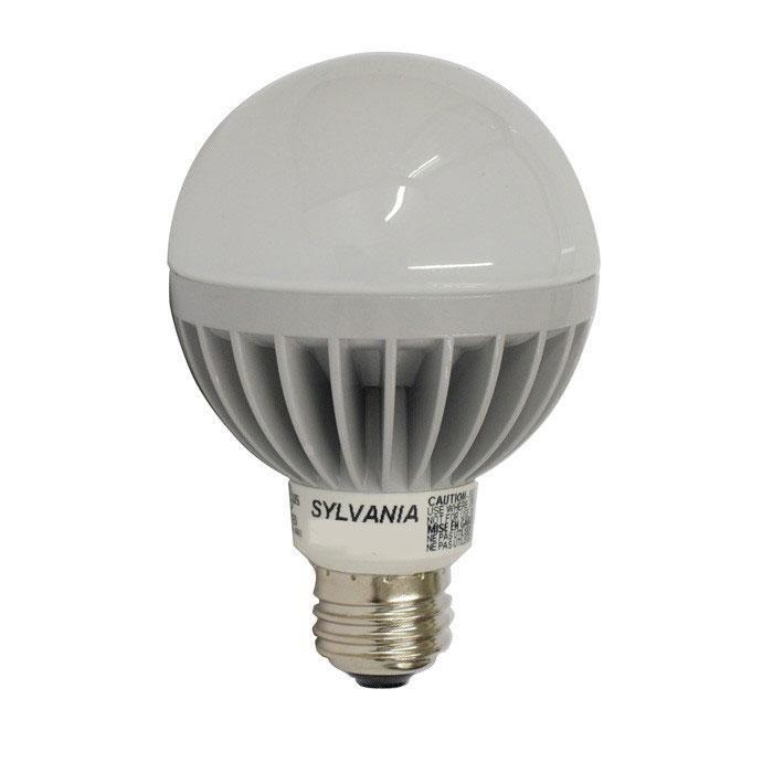OSRAM SYLVANIA 7w Dimmble LED Globe lamp - E26 base G25 3000K Bulb