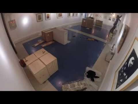 ¿Cómo es un montaje en nuestras salas de exposición? - YouTube
