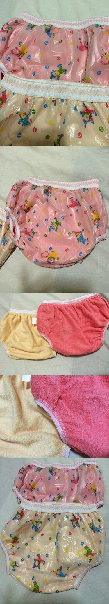 Cloth Diaper Potty Training Kids Underpants Pull up Cotton Plastic Panty Mess Free Waterproof Reusable Set of Two