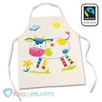 Kleur je eigen schort, Fair Trade -  Koppen.com