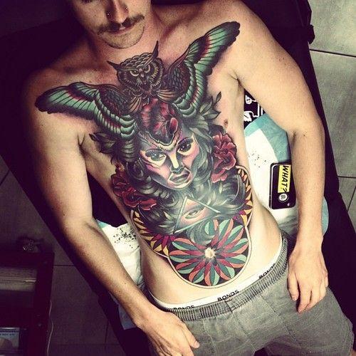 Amazing torso piece. #tattoo #tattoos #ink