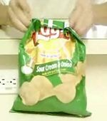 How to Close a Bag of Chips by Folding It. just did this, pinterest is taking over my life lol