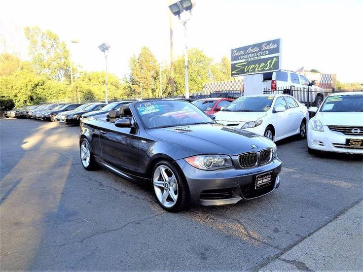 Hellabargain 2008 Bmw 1 Series Automatic 6 Speed Sacramento 11 495 00 Www Hellabargain Com Bmw Bmw 1 Series Sacramento