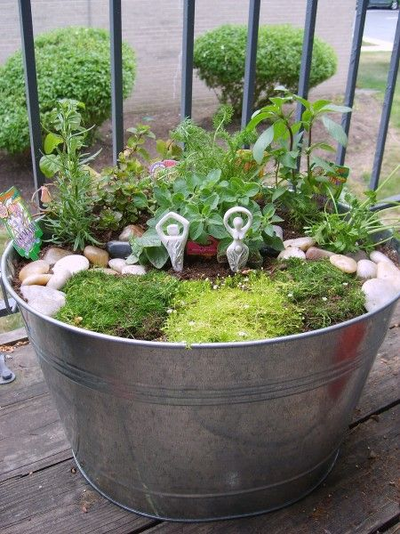 Porch Garden Altar by jezebelwitch on DeviantArt- Pinned by The Mystic's Emporium on Etsy