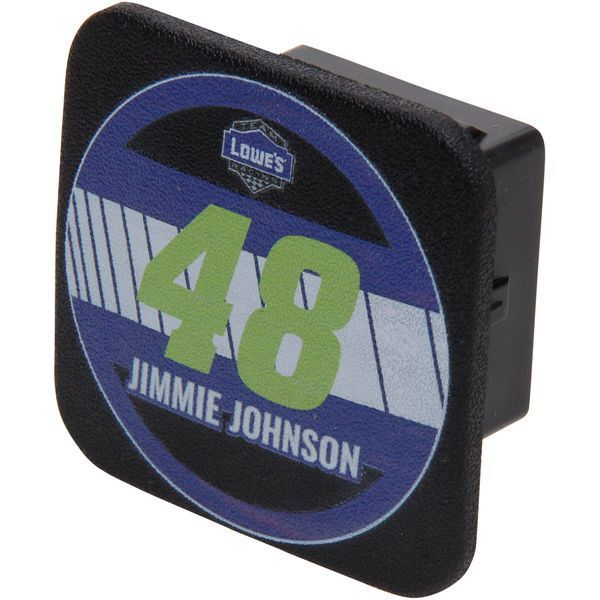 Jimmie Johnson Racer Rubber Trailer Hitch Cover