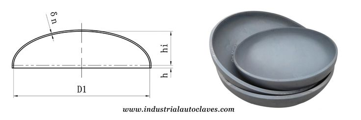 The ellipsoidal head has good mechanical properties better than the torispherical head. Due to the application of spinning manufacturing process in recent years, the fabrications of the larger diameter elliptical head is also can be realized. ASME elliptical dished heads are used in the construction of tanks for unfired pressure vessels, such as liquefied petroleum gas and air receivers.
