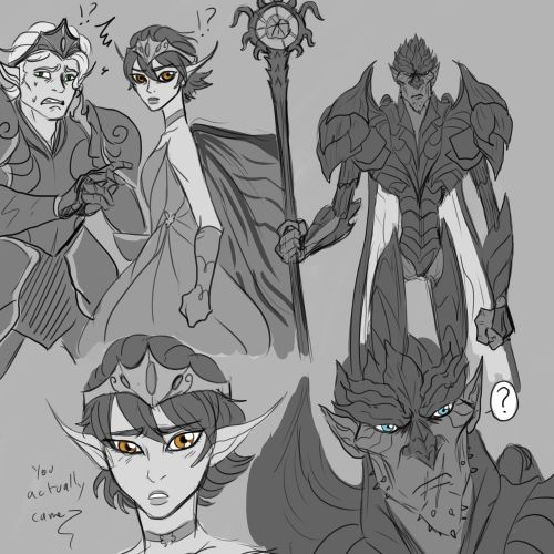 A small snippet of sketches of Queen Marianne first meeting The Bog King. Inspired and drawn for @suzie-guru's absolutely fabulous fanfiction Between the Shadow and the Soul. Go read it and cry please. Thank you to everyone who came to the stream to...
